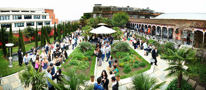 Foto do Kensington Roof Gardens em Londres