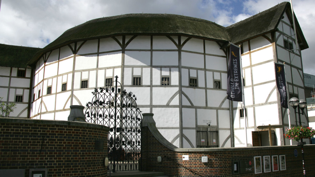 Foto do Globo de Shakespeare em Londres