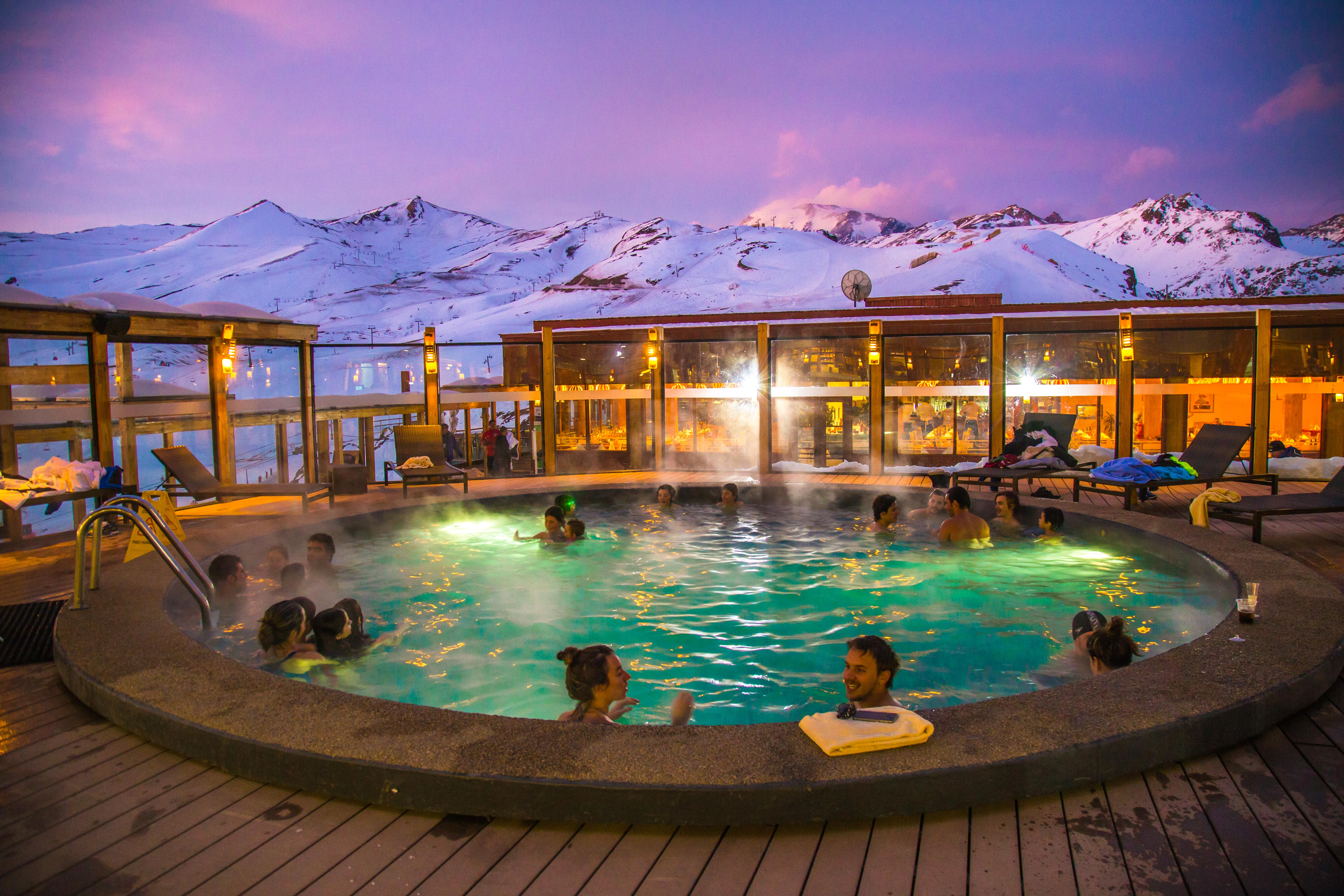 Tudo sobre o valle nevado no chile for Piscina u de chile