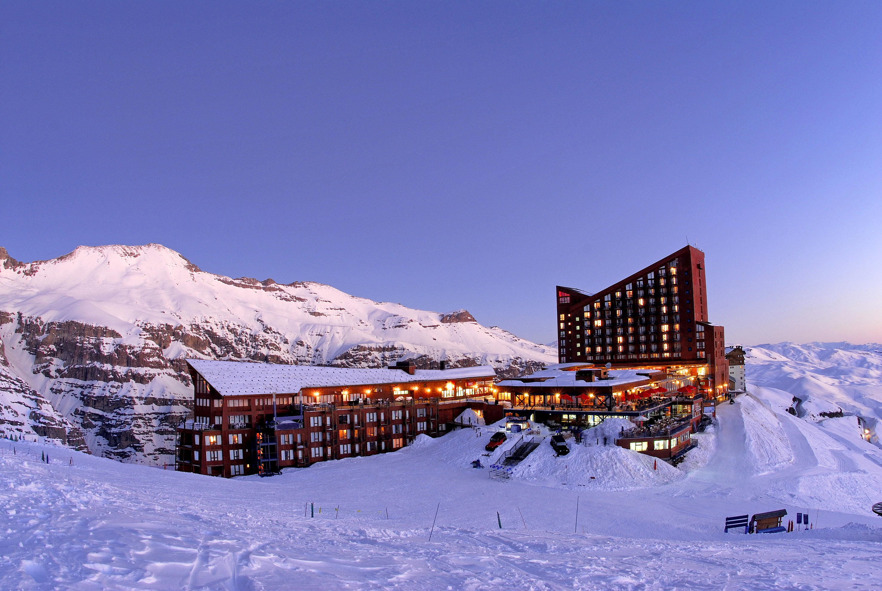 Valle nevado resort