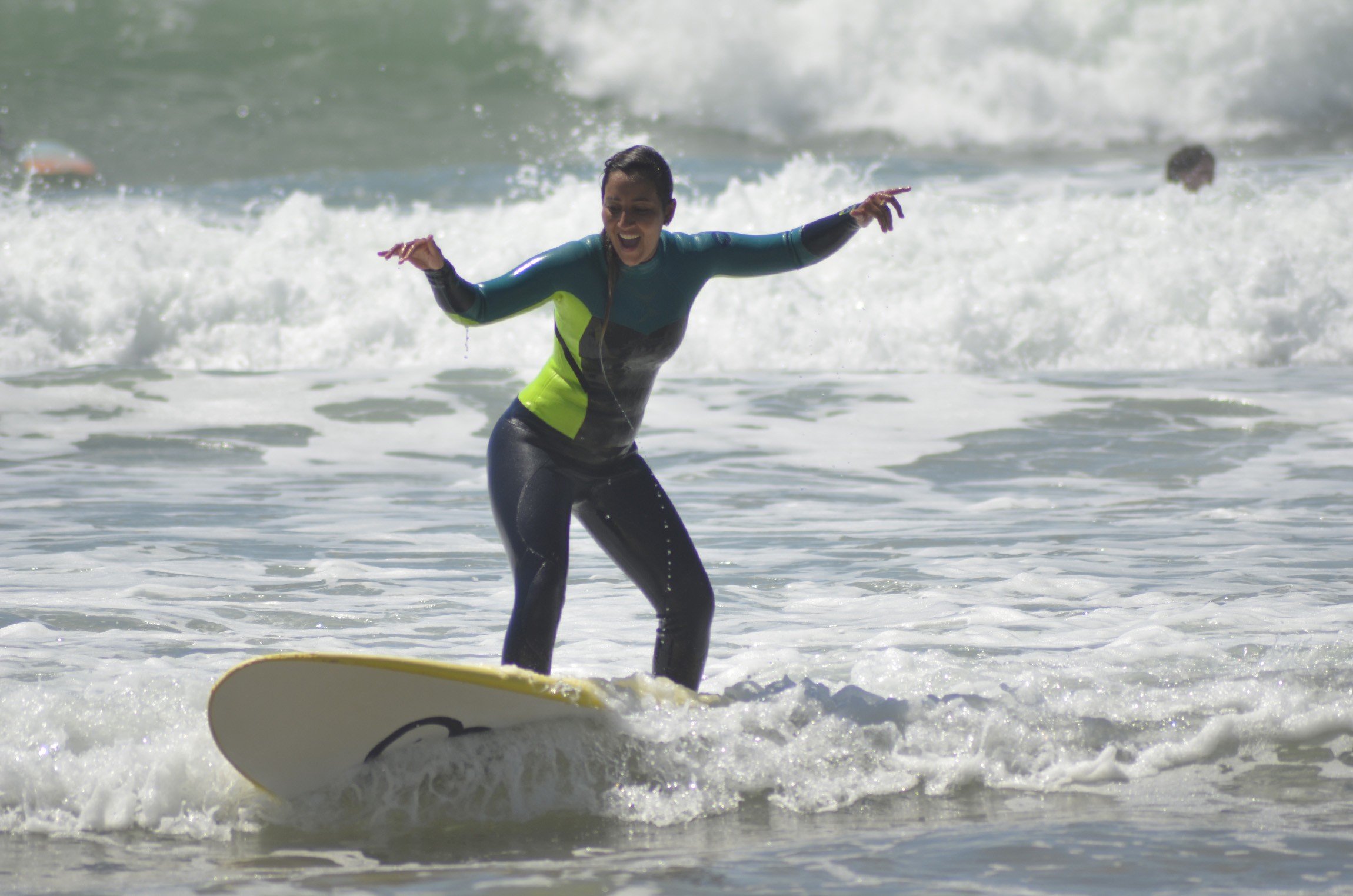 surf no surfcamp em Portugal