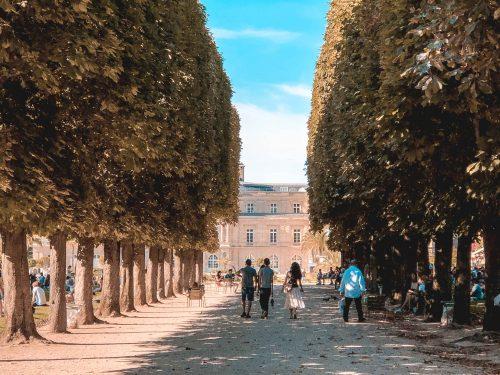 jardim du Luxembourg em Paris