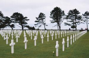 cemitério americano na Normandia