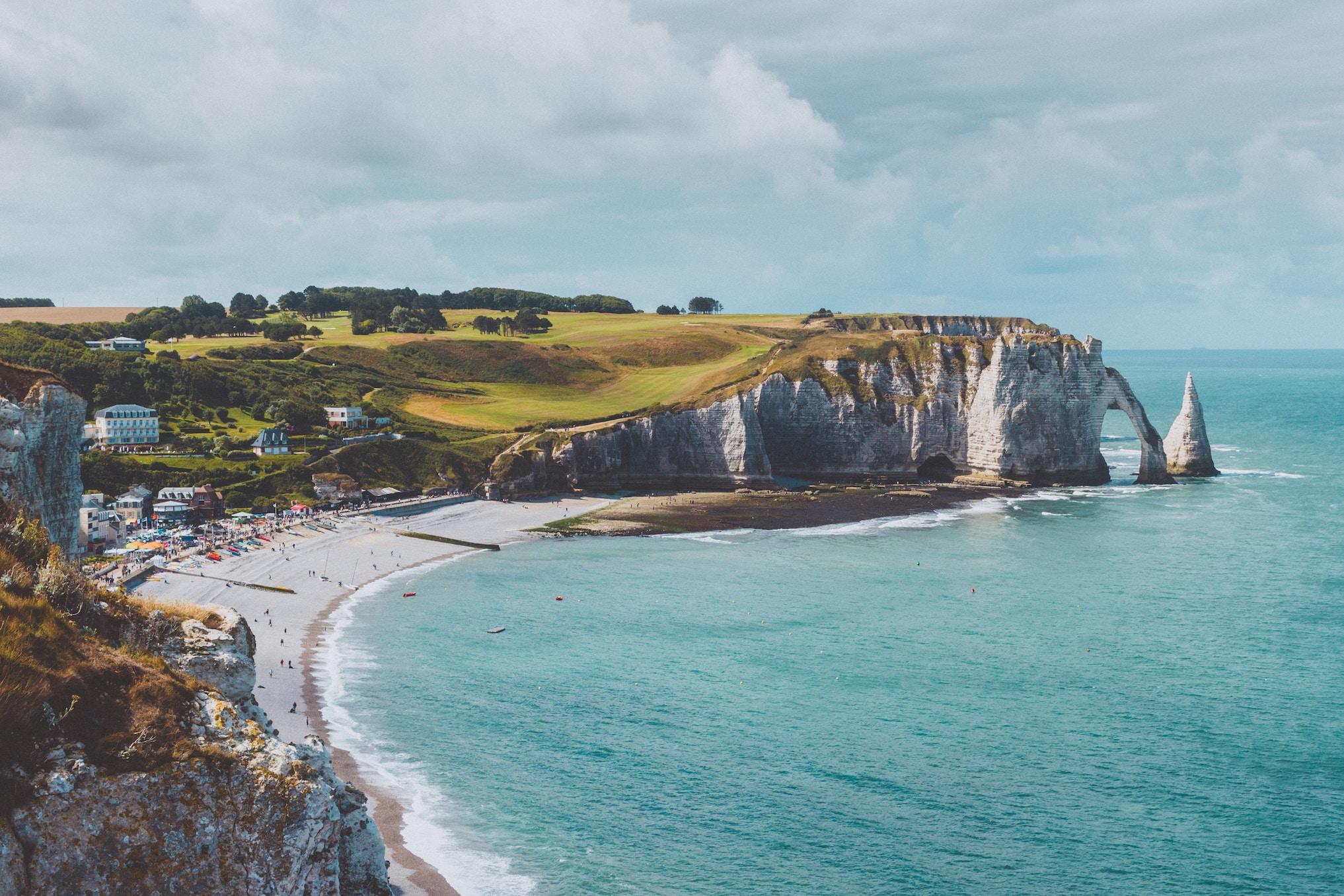 Étretat na Normandia