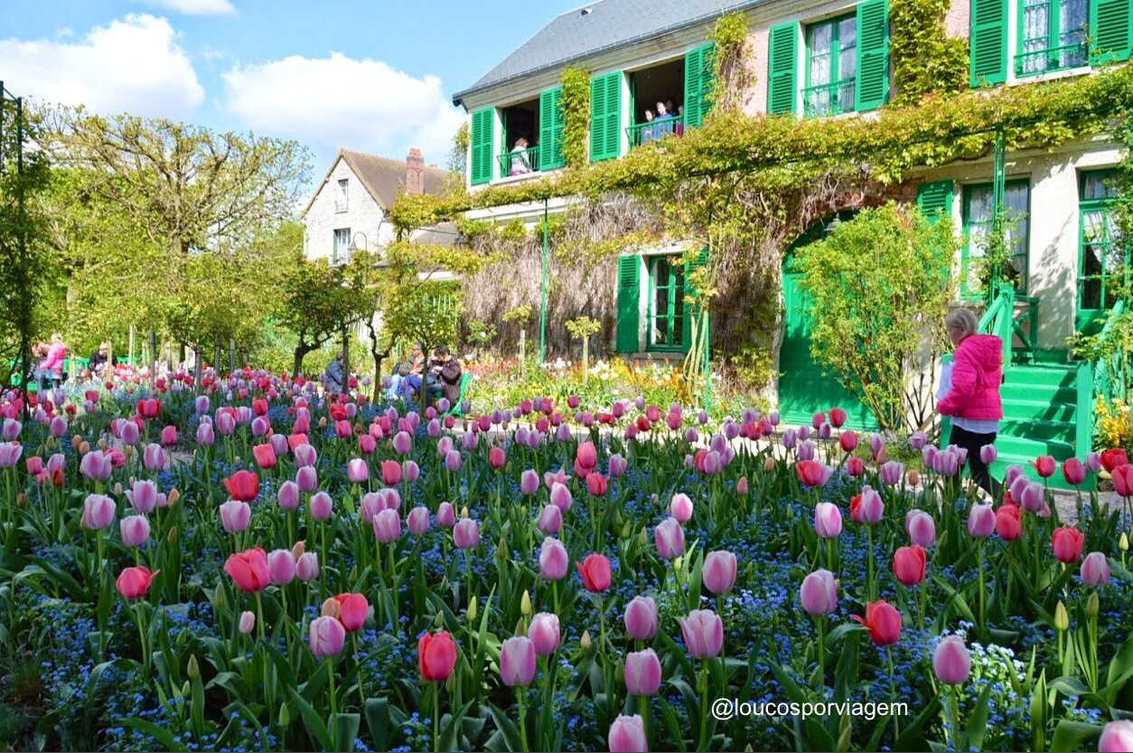 giverny na Normandia