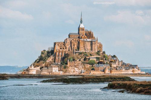 mont saint michel na Normandia