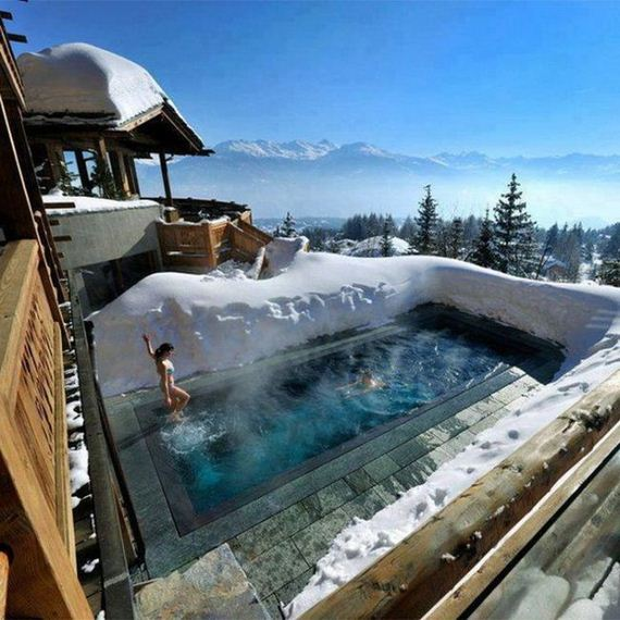 the Cambrian Hotel na suiça
