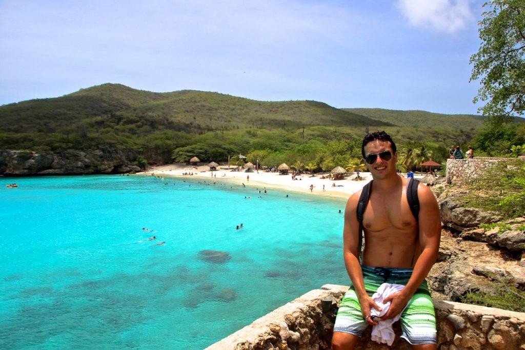 praia kenepa grandi em curaçao