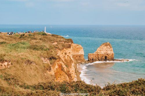 praias do desembarque na Normandia, França