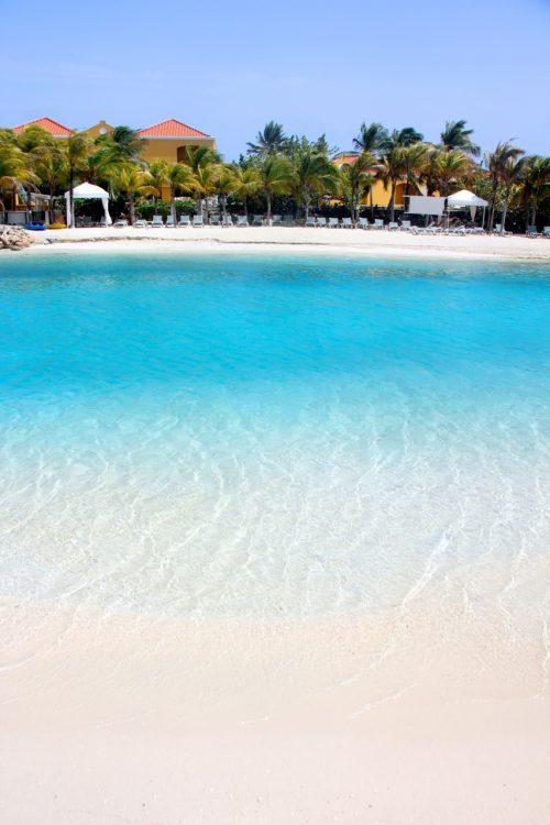 praia em curaçao