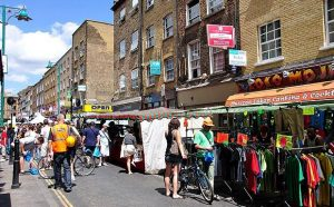 Foto de mercado em Londres