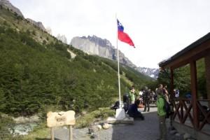 refugio chileno no verão
