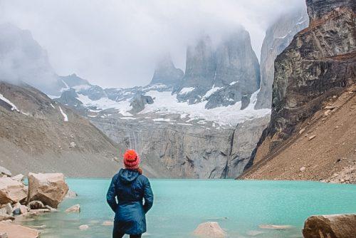 base das torres em torres del Paine