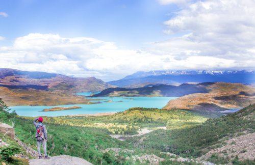 vale do francês em torres del Paine