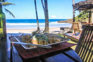 almoço no itacare eco resort