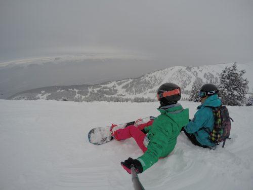 ski em lake louise