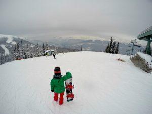 snowboard em lake louise