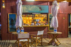 Bar no Valle nevado