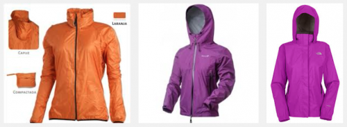 casacos impermeáveis para trilha