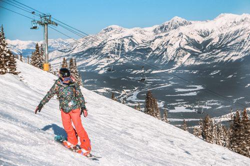 onde esquiar no Canada