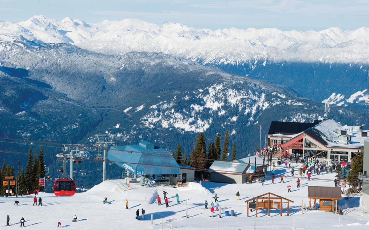 onde esquiar no canada: Whistler