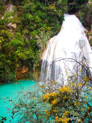 Cascadas El Chiflón México