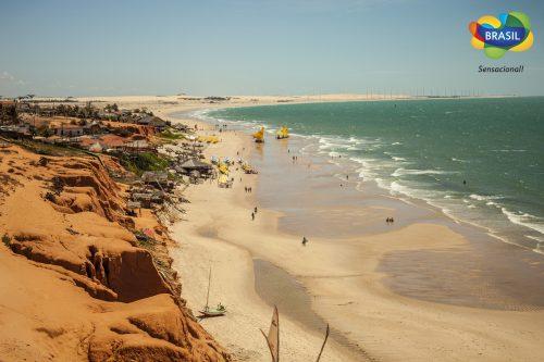 Turismo Week Pacote Fortaleza - Foto Canoa Quebrada