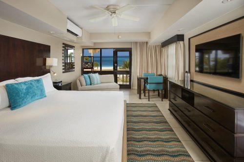 quarto do hotel bucuti em aruba