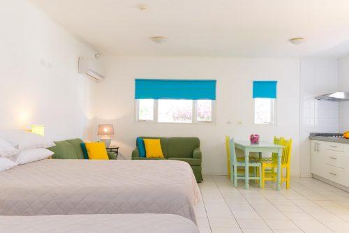 quarto do Paulines apartment em aruba