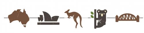 Ilustração Austrália