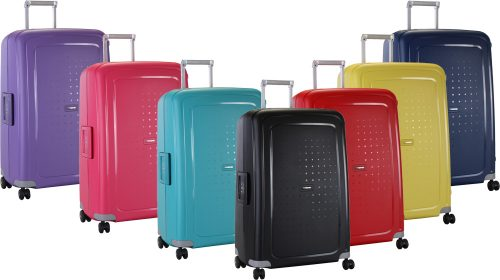 Malas coloridas S'cure samsonite