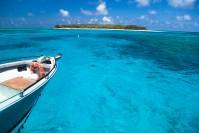 Mar incrível em Lady Musgrave Island