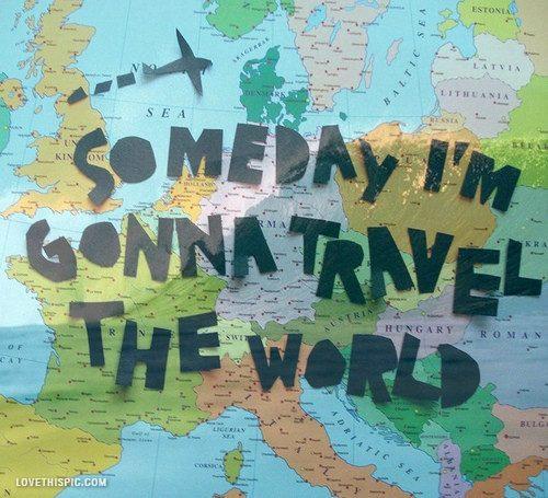 Um dia vou viajar o mundo