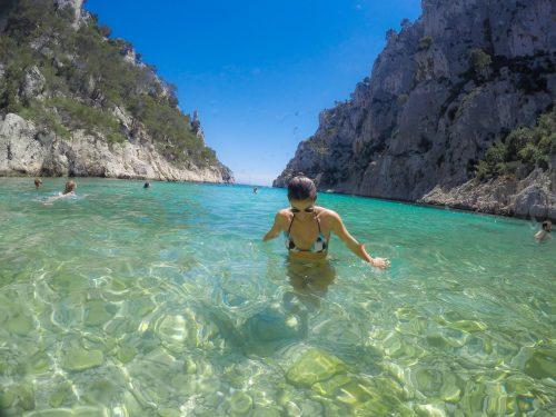 Mergulho em Cassis