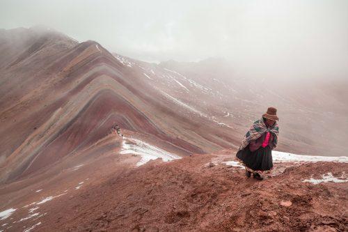 montanha vinicunca e suas cores