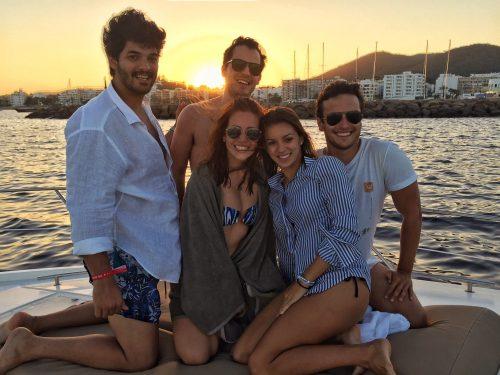 nossa turma em Ibiza