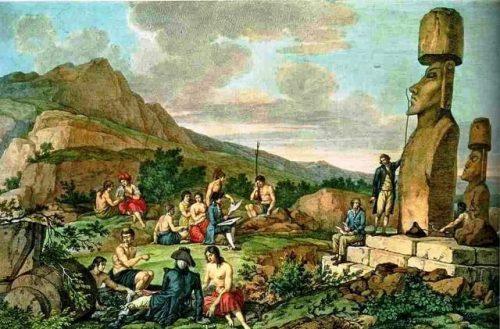 chegada dos europeus em Rapa Nui