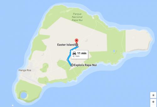 Localização Explora Rapa Nui