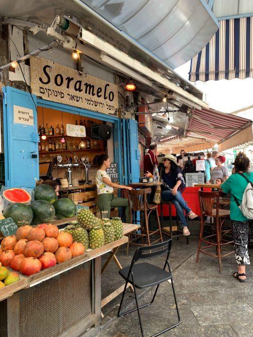 mercado em Jerusalem, israel