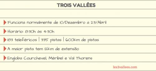 detalhes sobre 3 vallees