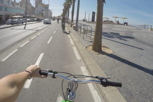 tel aviv de bicicleta