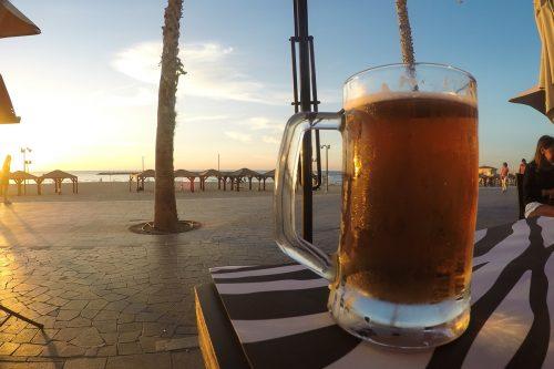 praia em tel Aviv