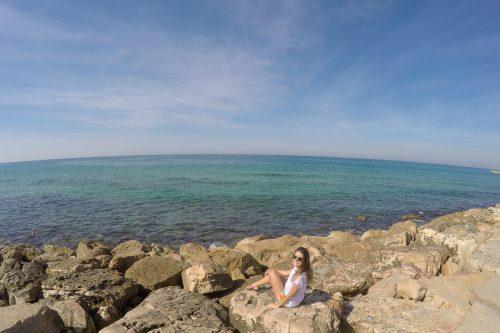 Mar em Tel Aviv