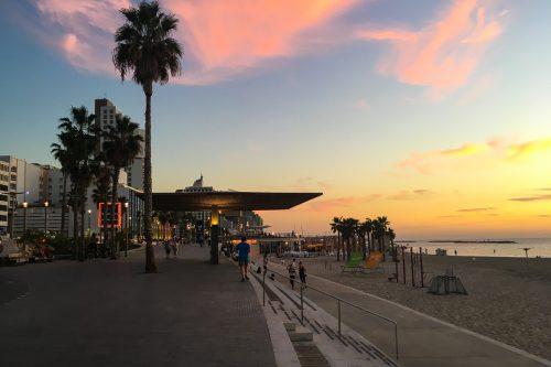 Orla da Praia em Tel Aviv
