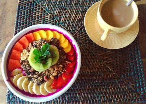 comida em Bali