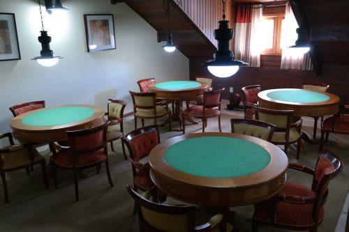 sala de jogos da Pousada Caricia do Vento