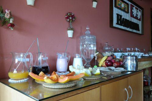 Café da Manhã da Pousada Caricia do Vento