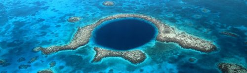 foto of blue hole em Belize