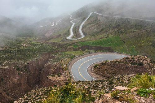 estrada no norte da argentina