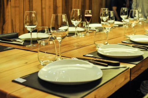 jantar no argentine experience - foto da mesa